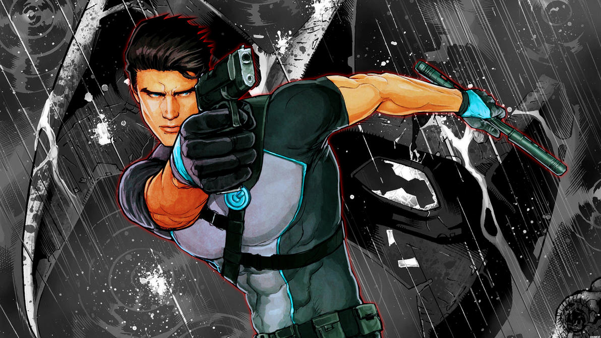 Dick Grayson New 52 By Xionice