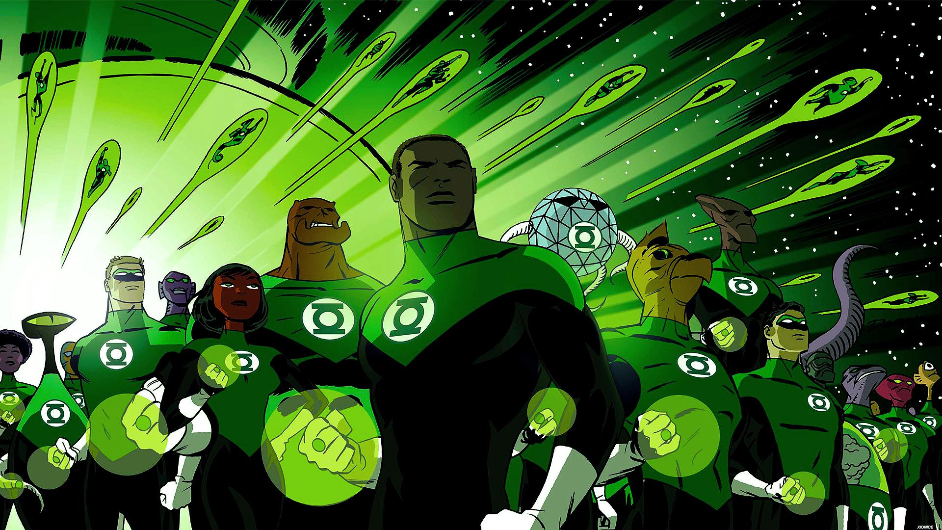green lantern artwork wallpaper - photo #26