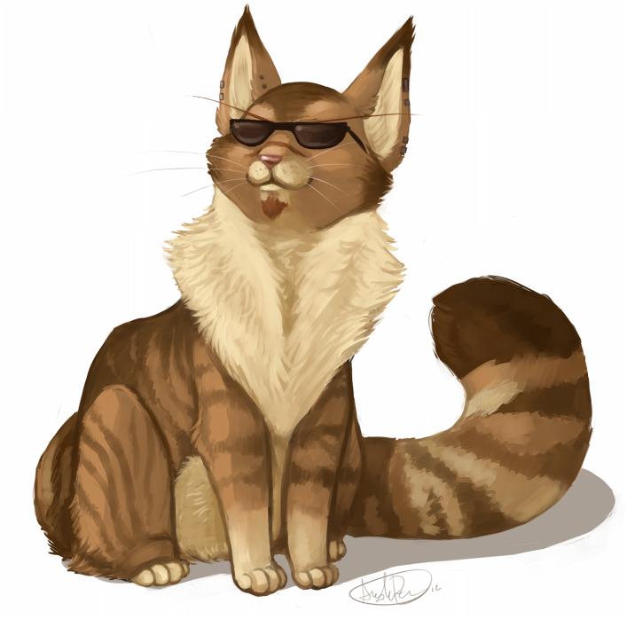 I didn't miss Caturday. by Riokri