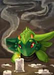 Rough Illustration - Manipulate Smoke