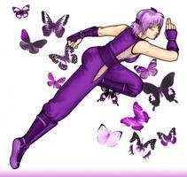 Ayane : Butterflies by bluecranberries