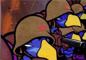 Army birds by Lucidflows
