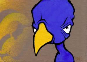 cynical bird