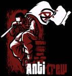 Anti Crew t-shirt design
