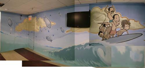 Barbershop mural, FL