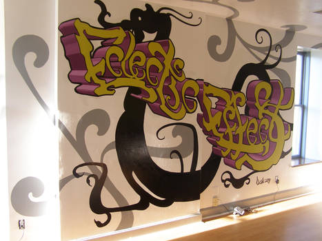 Eclectic Effects Salon Mural