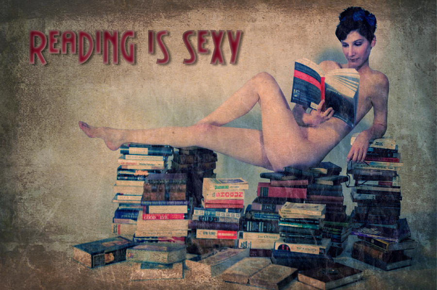 Reading Is Sexy by illiara