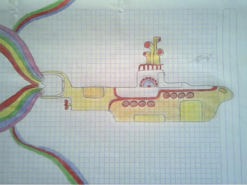 Yellow submarine by MariBeat