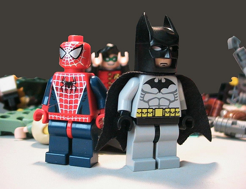 Lego spiderman and batman by megasonicbros on deviantart - Spiderman batman lego ...