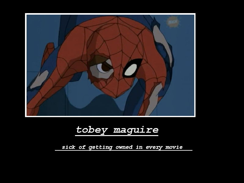 tobey maguire crying meme - photo #28