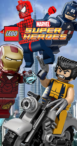 Lego marvel super heroes coming soon by megasonicbros
