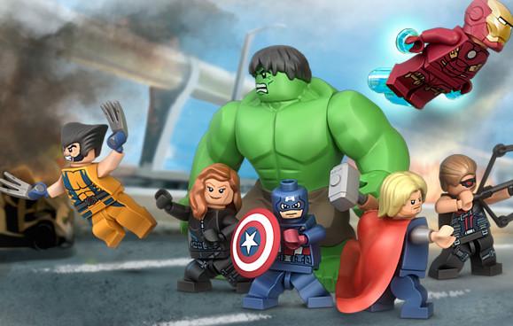 Lego Avengers And Wolverine By Megasonicbros On Deviantart