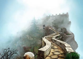 stairway by tavofunk