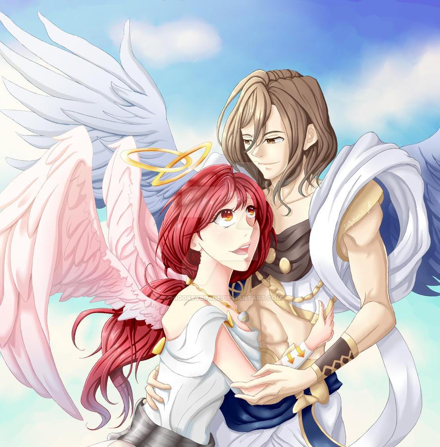 Angelic Love by IchigoKeyblade