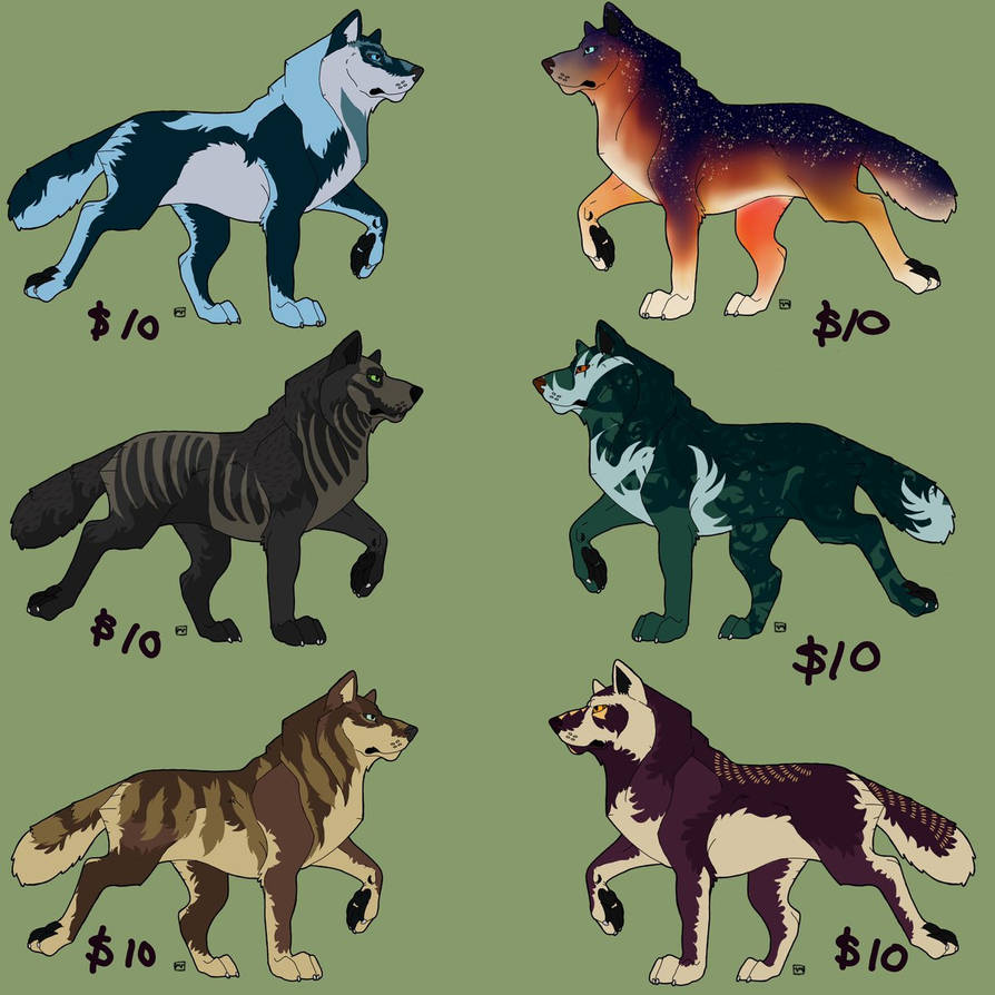 Adopts For Sale-- OPEN-- $10 by melosaur