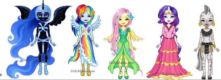 Mlp Dress Up Oc By Amethystfoxx On Deviantart