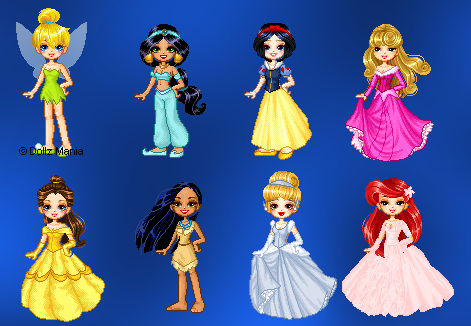 Doll Dress Up Games - Girls Go Games