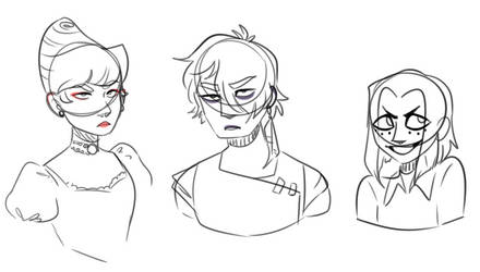 goth people and their evil son