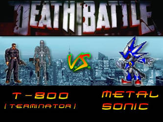 D.B. Terminator Vs Metal Sonic by Stormtali