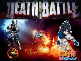 D.B.: Scorpion Vs Sasuke by Stormtali