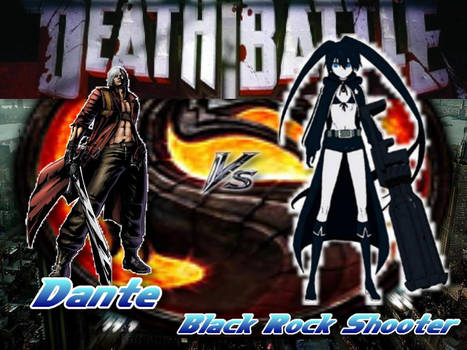 Death Battle Dante Vs Black Rock Shooter