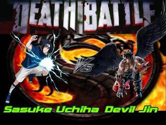 Death Battle Sasuke Vs Devil Jin (Tekken) by Stormtali