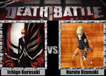 Death Battle: Ichigo Kurosaki Vs Naruto Uzumaki by Stormtali