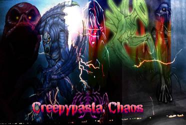 Creepypasta Chaos Artwork 2 by Stormtali