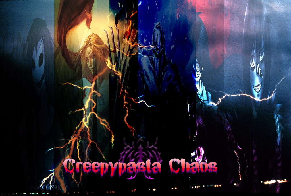 Creepypasta Chaos Artwork 5 by Stormtali