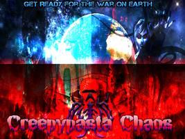 Creepypasta Chaos Teaser Poster by Stormtali
