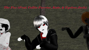 MMD CP: The Fox (Feat. Collin Kate Eyeless Jack) by Stormtali
