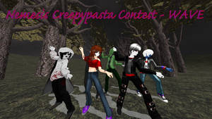 MMD Creepypasta: Nemesis Contest Submission by Stormtali