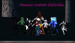 MMD Creepypasta Nemesis Contest Entry2 + Nightlock by Stormtali