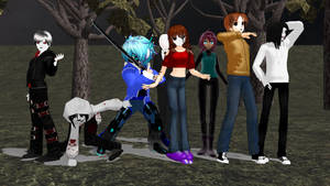 MMD CP Crossover Shadelock + The Seer?  (OLD) by Stormtali