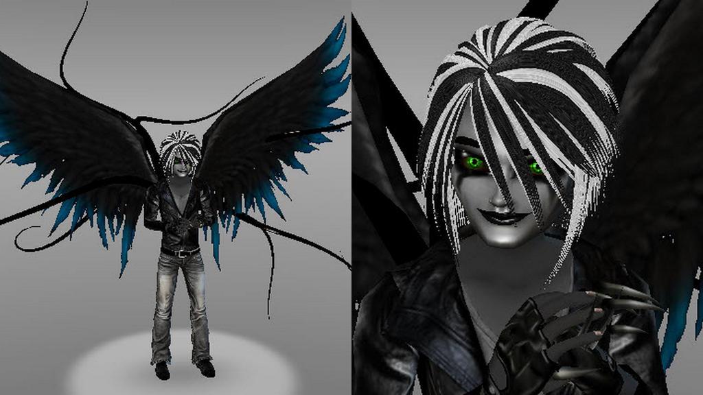 Alex Farrior (Dark Angel Mode) (Shadelock: Nexus) by Stormtali