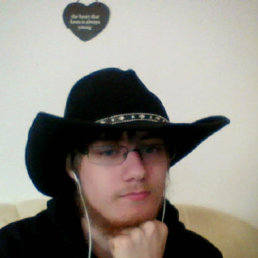Me with my new Cowboy Hat (SELFIE) by Stormtali