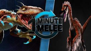 One Minute Melee Idea - Riptor Vs Talon by Stormtali