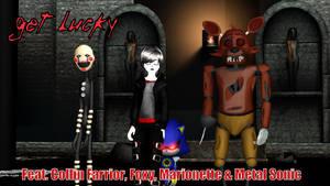 MMD Creepypasta OC X FNAF X Sonic - Get Lucky by Stormtali