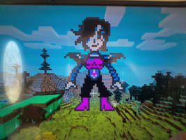 Mettaton EX Recreation in Minecraft by Stormtali