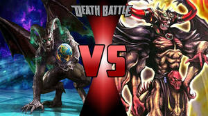 Death Battle Idea - Gargos Vs Chaos by Stormtali