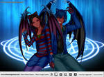 Evil Storm With his Lover Lilith