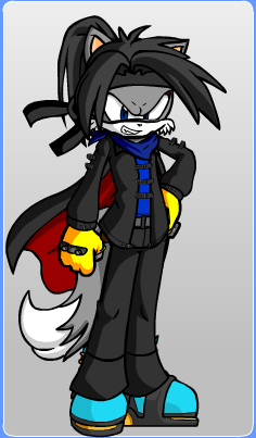 Sonic OC - Jago the Wolf by Stormtali