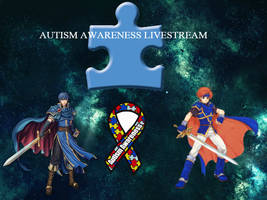 Autism Awareness Livestream Thumbnail by Stormtali