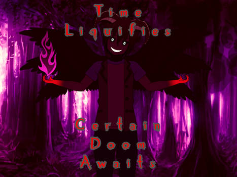 Spooptober Art 1 - Certain Doom Awaits