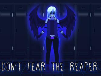 Spooptober Art 4 - Don't Fear the Reaper