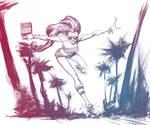 RollerSkate Skinny by TonyBrescini