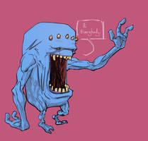 Friendly Monster by TonyBrescini