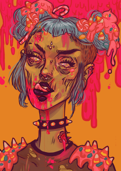 Candy Coated by UrsulaDecay