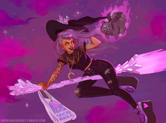 Witchsona by UrsulaDecay