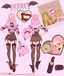 (CLOSED )Adoptable Auction : Audrey by UrsulaDecay